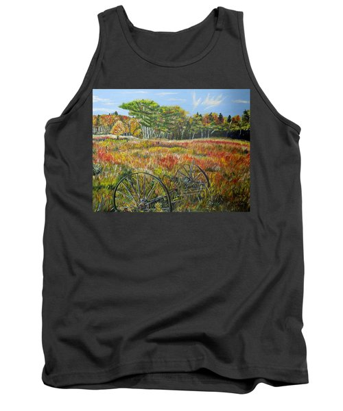 Tank Top featuring the painting A Prairie Treasure by Marilyn  McNish