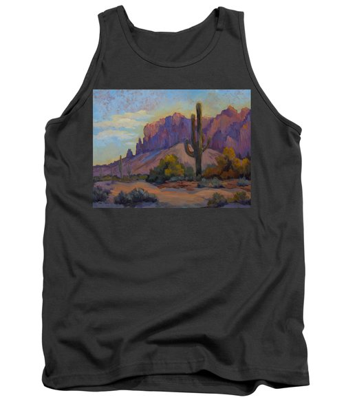 A Proud Saguaro At Superstition Mountain Tank Top