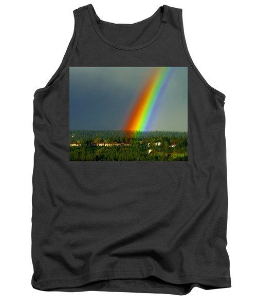 A Rainbow Blessing Spokane Tank Top