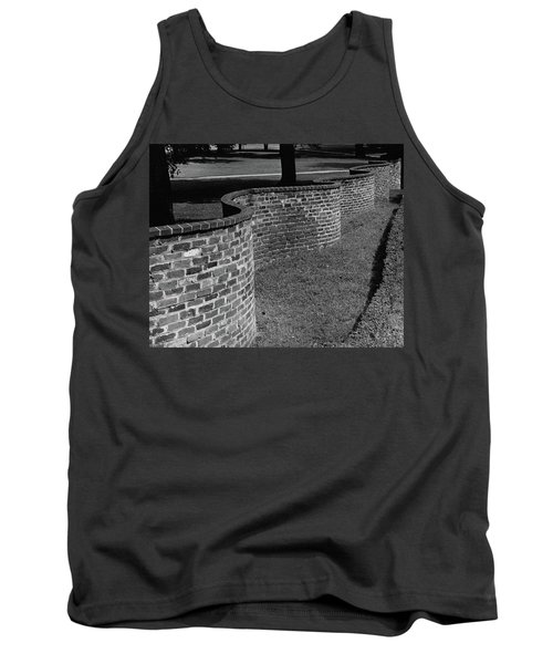 A Serpentine Brick Wall Tank Top