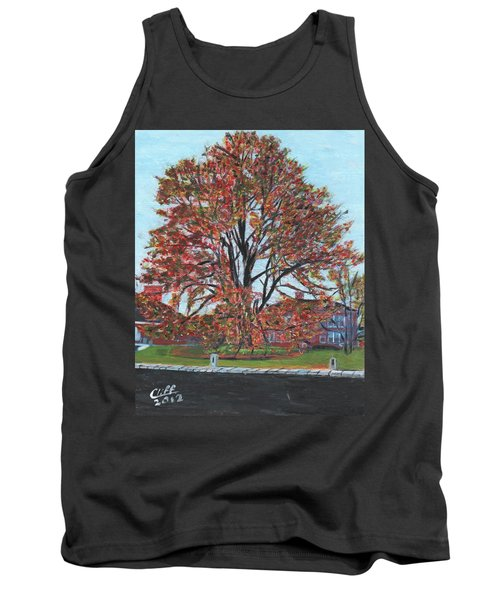A Tree In Sherborn Tank Top