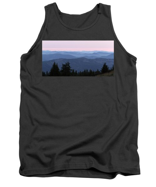 A View From Timberline Tank Top