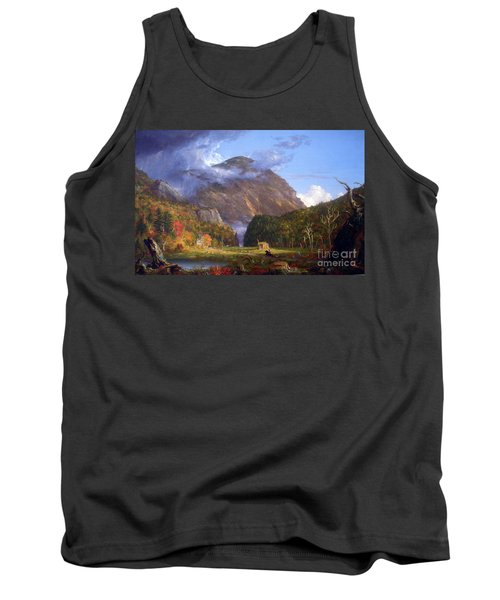 A View Of The Mountain Pass Called The Notch Of The White Mountans By Thomas Cole Tank Top