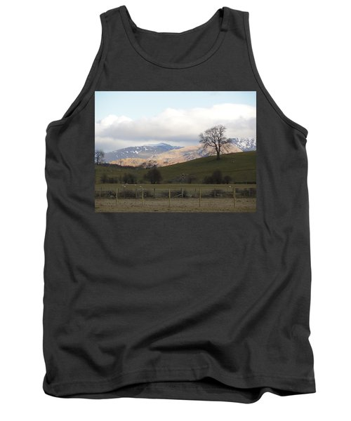 Tank Top featuring the photograph A Walk In The Countryside In Lake District England by Tiffany Erdman