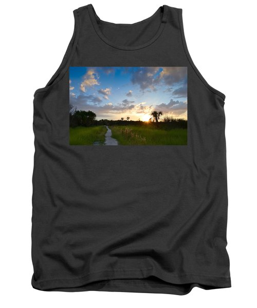 Tank Top featuring the photograph A Walk With You... by Melanie Moraga