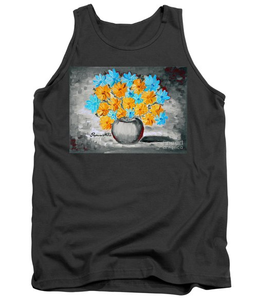 A Whole Bunch Of Daisies Selective Color II Tank Top