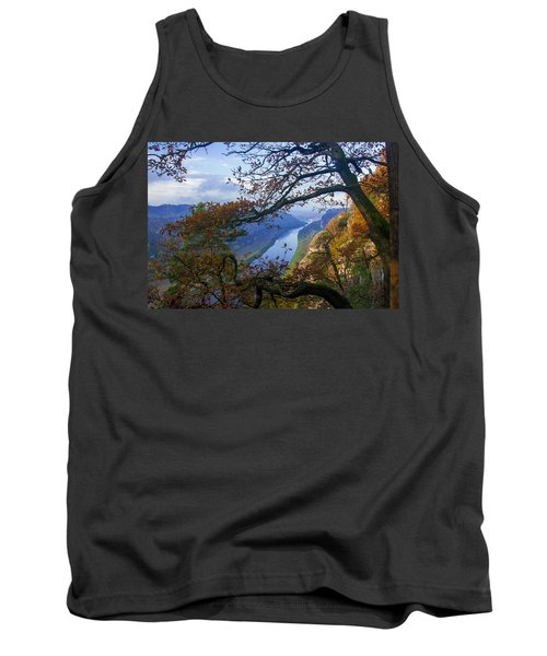 A Window To The Elbe In The Saxon Switzerland Tank Top