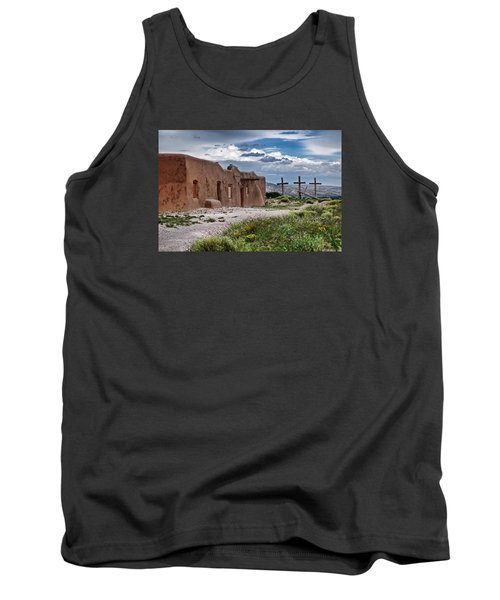 Abandoned Church In Abiquiu New Mexico Tank Top