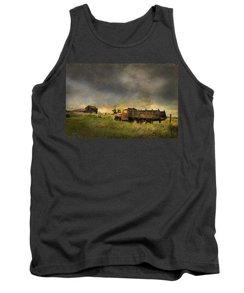 Abandoned Farm Truck Tank Top