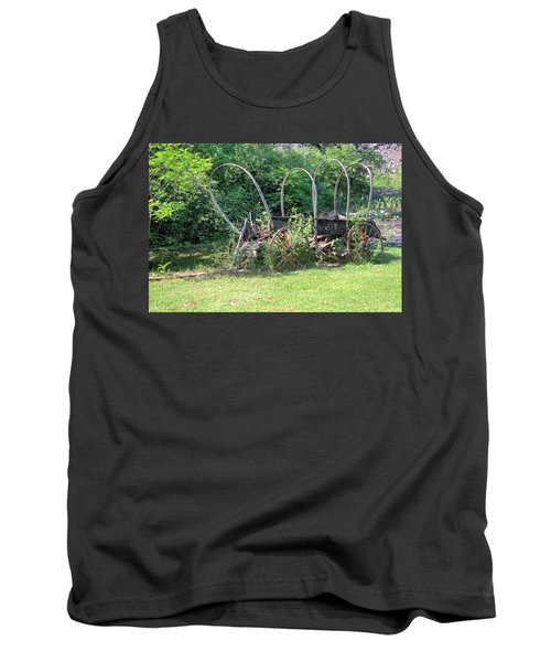 Tank Top featuring the photograph Abandoned by Gordon Elwell