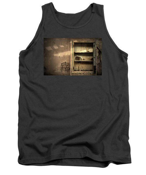 Abandoned Kitchen Cabinet Tank Top by RicardMN Photography