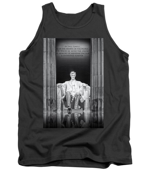 Abraham Lincoln Memorial Tank Top
