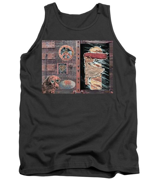 Absinthe Night In Brussels Tank Top