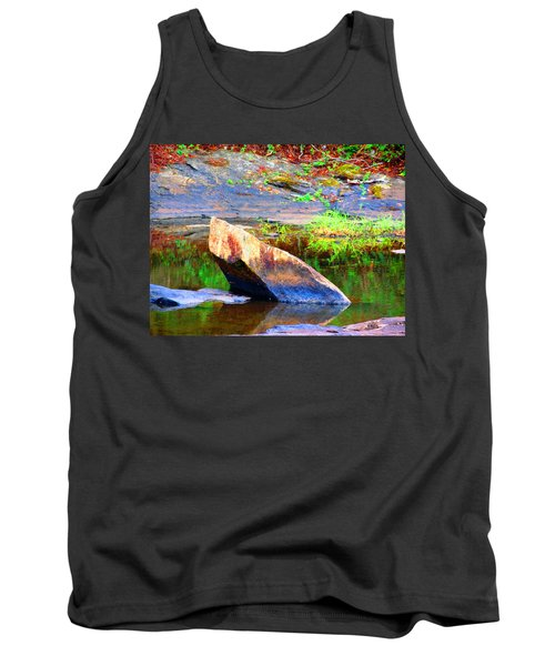 Abstact Rock				 Tank Top