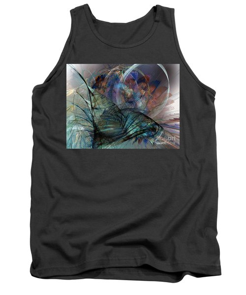 Abstract Art Print In The Mood Tank Top