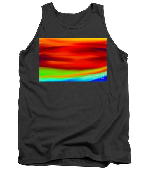 Abstract Colors Tank Top