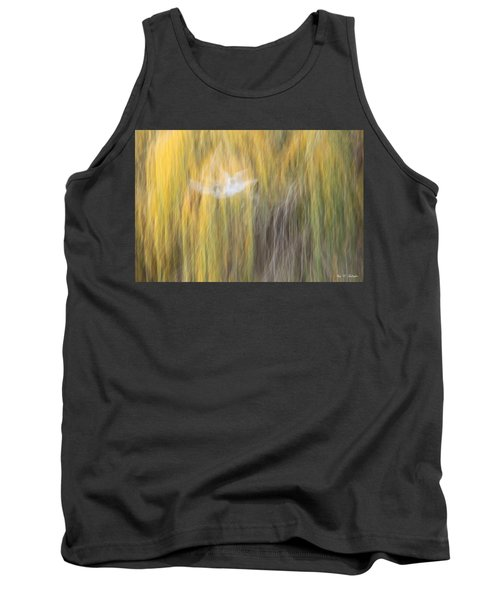 Tank Top featuring the photograph Abstract Haze by Amy Gallagher