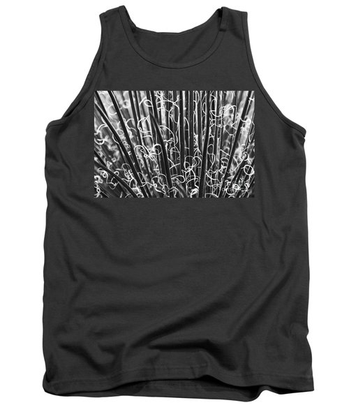 Abstract In Black And White Tank Top