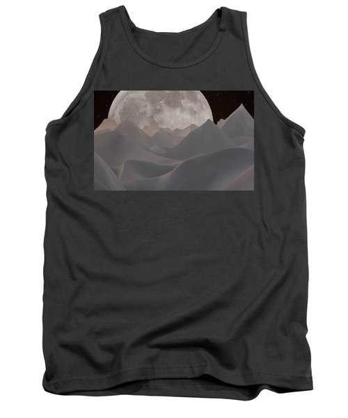 Abstract Landscape #3 Tank Top by Wally Hampton