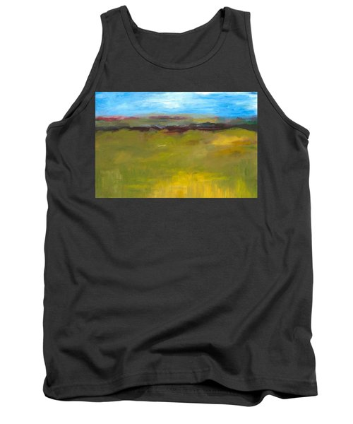 Abstract Landscape - The Highway Series Tank Top by Michelle Calkins