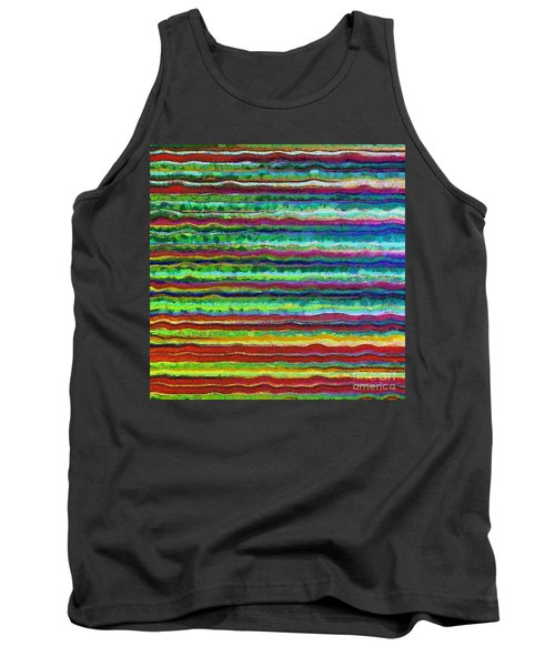 Abstract Lines 6 Tank Top