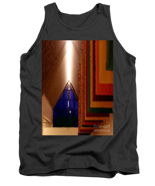 Abstract - Center For The Arts Interior Allentown Pa Tank Top