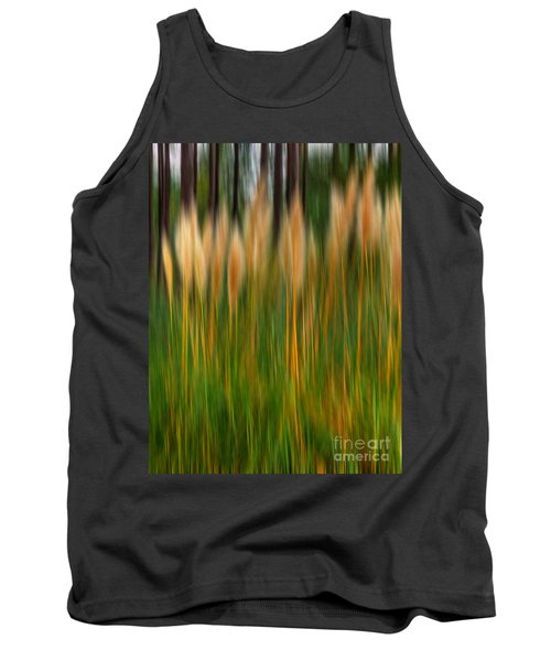 Abstract Of Movement Tank Top