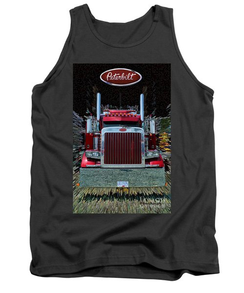 Abstract Peterbilt Tank Top