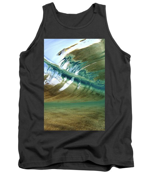 Abstract Underwater 2 Tank Top