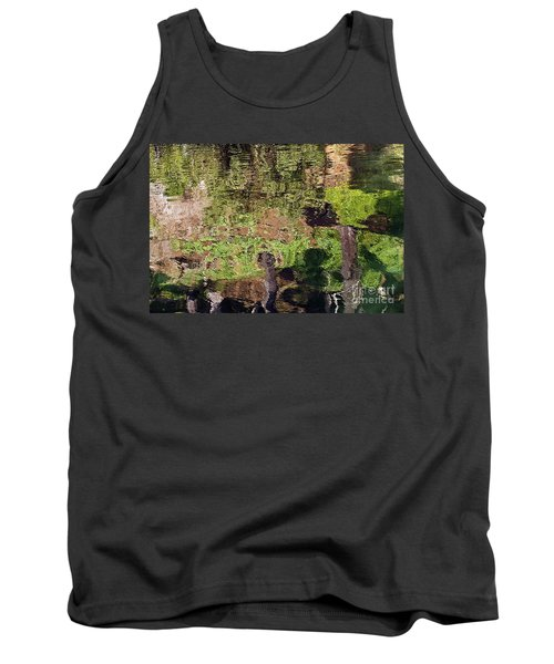 Tank Top featuring the photograph Abstracted Reflection by Kate Brown