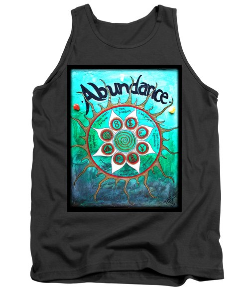 Abundance Money Magnet - Healing Art Tank Top