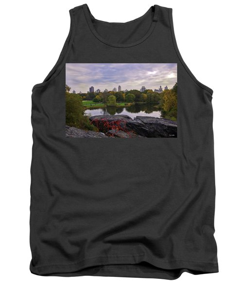 Across The Pond 2 - Central Park - Nyc Tank Top