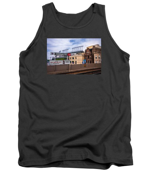 Addison Street Station Tank Top by Tom Gort