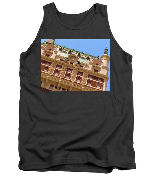 Tank Top featuring the photograph Adolphus Hotel - Dallas #1 by Robert ONeil