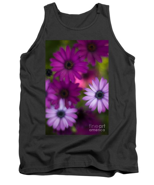 African Daisy Collage Tank Top by Mike Reid