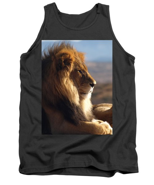 African Lion Tank Top