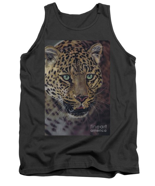 After Dark All Cats Are Leopards Tank Top