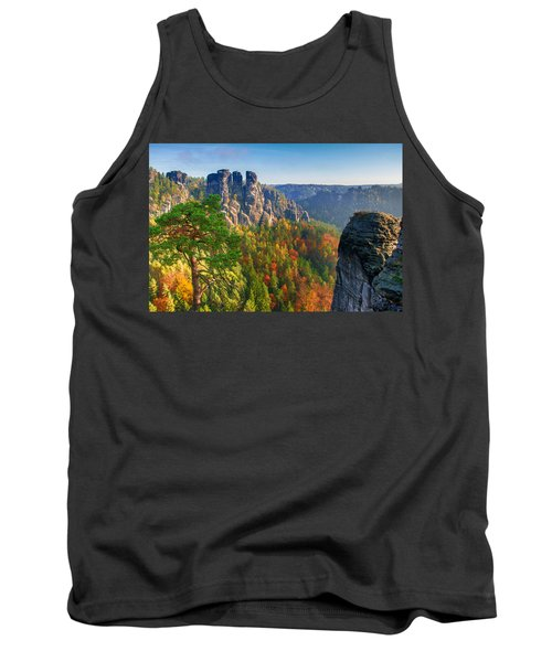 After The Sunrise On The Bastei Tank Top