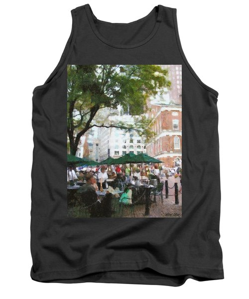 Afternoon At Faneuil Hall Tank Top by Jeff Kolker