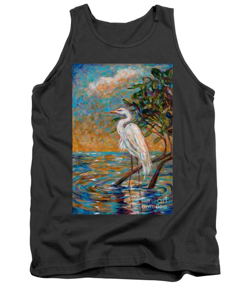 Afternoon Egret Tank Top