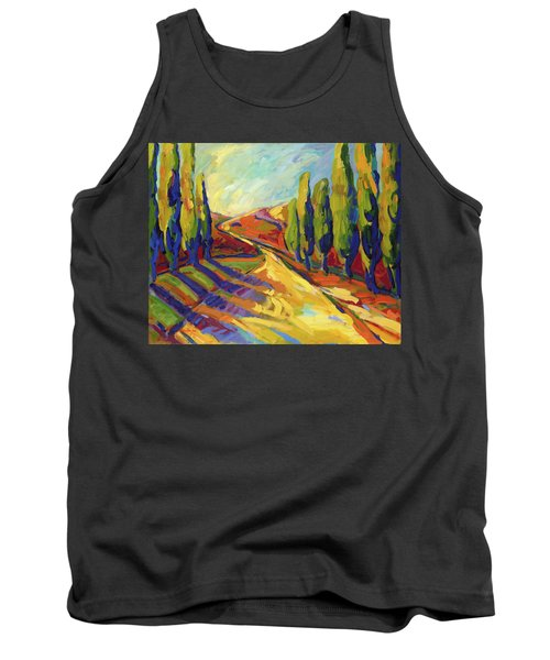 Afternoon Shadows Tank Top
