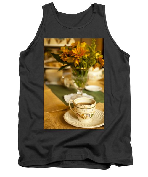 Afternoon Tea Time Tank Top by Andrew Soundarajan