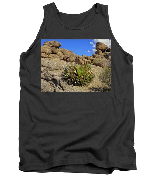 Tank Top featuring the photograph Against The Odds by Michael Pickett