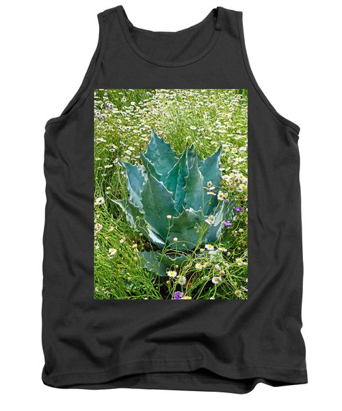 Agave Swaddled In Asters Tank Top