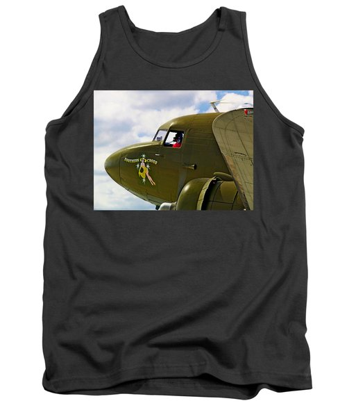 Airplane Named Southern Crosss Tank Top
