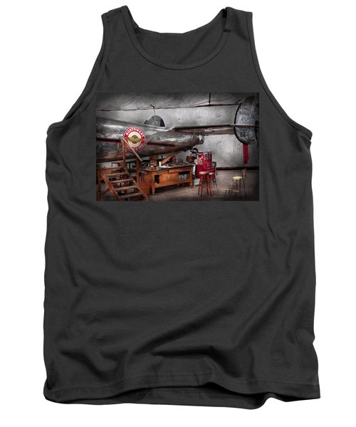 Airplane - The Repair Hanger  Tank Top
