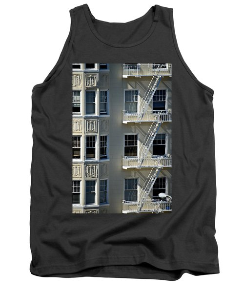 Tank Top featuring the photograph Alamo Square San Francisco by Steven Richman