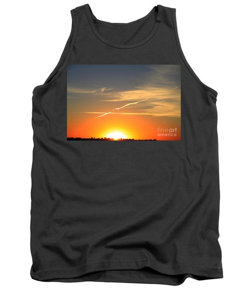 Alberta Sunset Tank Top by Alyce Taylor