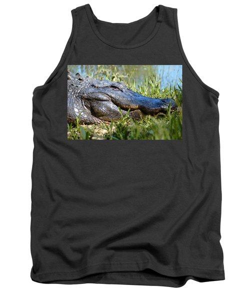 Alligator Smiling Tank Top