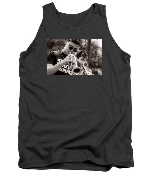 Tank Top featuring the photograph All That Jazz by Tim Stanley